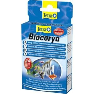 Препарат Tetra Biocoryn для разложения биологических загрязнений в аквариуме 24 капс интернет магазин рыбки в аквариуме