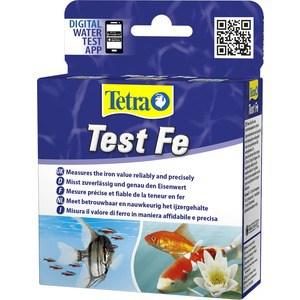 Тест Tetra Test Fe на содержание железа для пресной воды 10мл тест sera ph тест для воды 15 мл