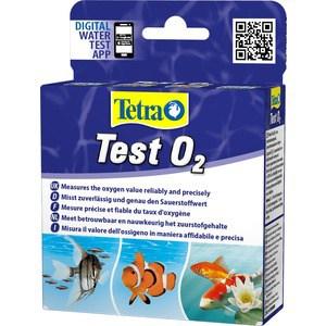 Тест Tetra Test O2 на содержание кислорода для пресной и морской воды тест sera nh4 nh3 test ammonium ammonia test на содержание аммония и аммиака для воды в аквариуме 3х15мл