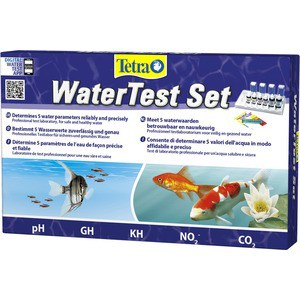 Тест Tetra WaterTest Set набор тестов (pH,GH,KH,NO2,CO2)