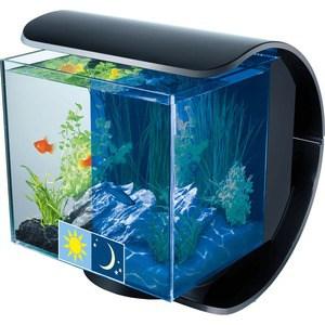 Фотография товара аквариумный комплекс Tetra Silhouette LED Designer Nano Aquarium с LED освещением день / ночь 12л (705296)