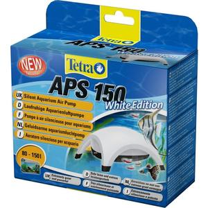 Компрессор Tetra APS 150 Silent Aquarium Air Pomp White Edition для аквариумов 80-150л (белый) фильтр tetra внутренний tetratec easy crystal box 600 50 150л