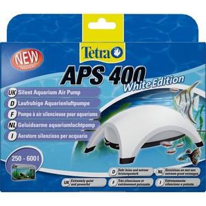 Компрессор Tetra APS 400 Silent Aquarium Air Pomp White Edition для аквариумов 250-600л (белый) фильтр tetra внутренний tetratec easy crystal box 600 50 150л