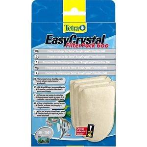 Картриджи Tetra EasyCrystal FilterPac C 600 фильтрующие без активированного угля для фильтра EasyCrystal 600 3шт