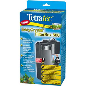 Фильтр Tetra EasyCrystal 600 Filter Box Internal Aquarium Filter with Heater Compartment внутренний с обогревателем для аквариумов 100-130л ultra silence fish tank filter external aquarium filter fish tank water pump remove oil