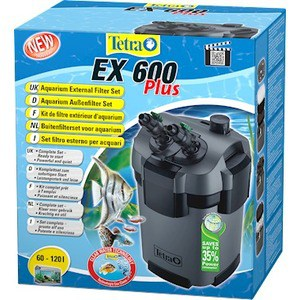 Фильтр Tetra EX 600 Plus Aquarium External Filter Set внешний для аквариумов 60-120л
