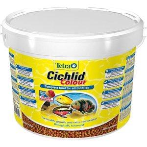 Корм Tetra Cichlid Colour Complete Food for All Cichlids улучшение окраса для всех видов цихлид 10л корм tetra pond sticks complete food for all pond fish палочки для прудовых рыб 50л