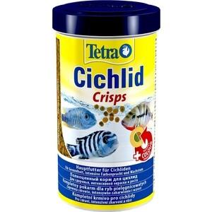Корм Tetra Cichlid Pro Premium Food for All Cichlids чипсы для всех видов цихлид 500мл корм tetra cichlid xl flakes premium food for all cichlids крупные хлопья для всех видов цихлид 1л 204294