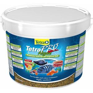 Корм Tetra TetraPro Algae Crisps Premium Food for All Tropical Fish чипсы со спирулиной для всех видов тропических рыб 10л корм tetra tetramin xl flakes complete food for larger tropical fish крупные хлопья для больших тропических рыб 10л 769946