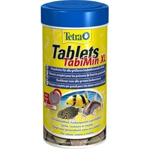 Корм Tetra Tablets TabiMin XL Shrimps Complete Food for Bottom-feeding Fish таблетки с креветками для всех видов донных рыб 133таб 1000g 98% fish collagen powder high purity for functional food