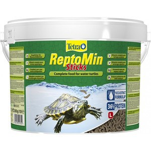 Корм Tetra ReptoMin Sticks Complete Food for All Water Turtles палочки для всех видов водных черепах 10л корм tetra goldfish flakes complete food for all goldfish хлопья для всех видов золотых рыбок 1л 204355