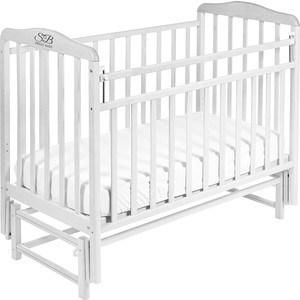 Кроватка Sweet Baby Flavio Bianco (Белый) (392623) детская кроватка sweet baby eligio bianco белый 385 674
