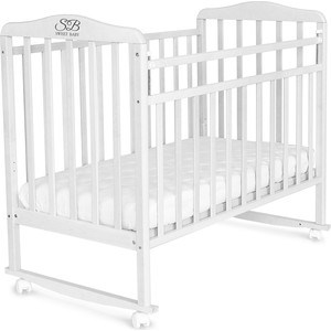 Кроватка Sweet Baby Mario Bianco (Белый) (392621)