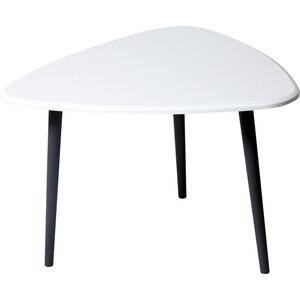Стол журнальный Калифорния мебель Квинс белый стол журнальный калифорния мебель бруклин венге