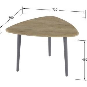 Стол журнальный Калифорния мебель Квинс дуб сонома стол журнальный калифорния мебель бруклин венге