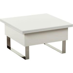 Стол-трансформер Levmar Piccolo GL складной журнальный стол хай тек levmar cross gl белый глянец