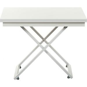 Стол-трансформер Levmar Cross Gls складной журнальный стол хай тек levmar cross gl белый глянец