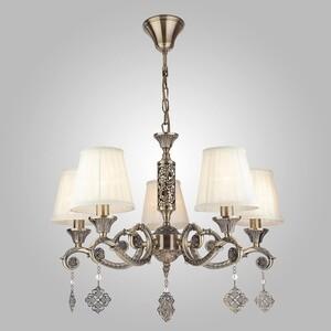 Подвесная люстра Eurosvet 60042/5 античная бронза подвесная люстра silverlight aimi 139 53 5