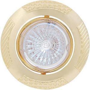 Точечный светильник Horoz HL797 золото 015-013-0050 светильник точечный накладной коллекция vitoria surfase fd1012sob латунь блестящее золото fede феде