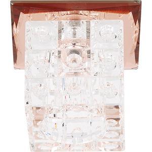 Точечный светильник Horoz HL805 коричневый 015-006-0020 встраиваемый светильник horoz lilyum желтый 015 006 0020 hl805