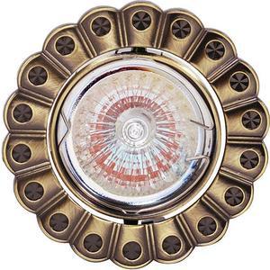 Точечный светильник Horoz HL759 античный зеленый 015-016-0050