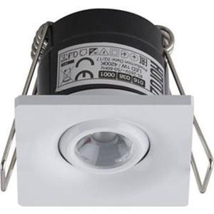 Встраиваемый светодиодный светильник Horoz 1W 4200К белый 016-038-0001