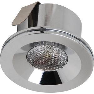 Встраиваемый светодиодный светильник Horoz 3W 6400К матовый хром 016-004-0003