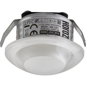 Встраиваемый светодиодный светильник Horoz 3W 4200К 016-037-0003 встраиваемый светодиодный светильник horoz 15w 6000к белый 016 017 0015 hl6756l