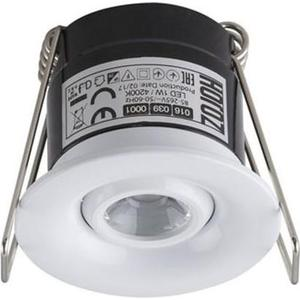 Встраиваемый светодиодный светильник Horoz 1W 4200К белый 016-039-0001 встраиваемый светодиодный светильник horoz 15w 6000к белый 016 017 0015 hl6756l