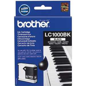 Brother LC1000BK refillable color ink jet cartridge for brother printers dcp j125 mfc j265w 100ml