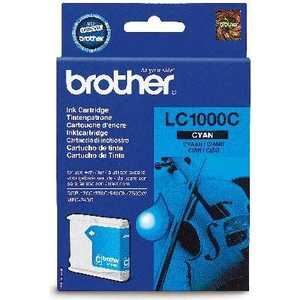 Brother LC1000C refillable color ink jet cartridge for brother printers dcp j125 mfc j265w 100ml