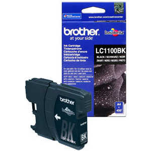Brother LC1100BK refillable color ink jet cartridge for brother printers dcp j125 mfc j265w 100ml