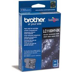 Brother LC1100HYBK картридж brother lc1100hybk для dcp 6690cw черный увеличенный