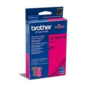 Brother LC1100HYM refillable color ink jet cartridge for brother printers dcp j125 mfc j265w 100ml