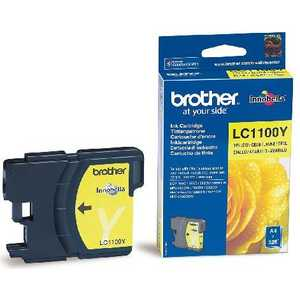 Brother LC1100Y картридж brother lc1100bk для dcp 385c mfc 990cw dcp 6690cw черный
