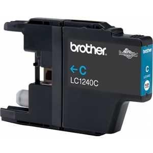 Brother LC1240C струйный картридж brother lc1240c голубой для mfc j6510 6910dw