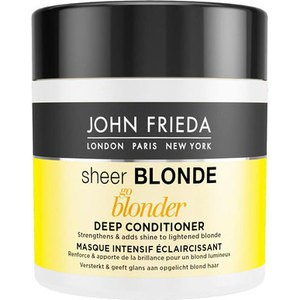 John Frieda Sheer Blonde Go Blonder Маска для светлых волос 150 мл john frieda sheer blonde увлажняющий активирующий кондиционер для светлых волос sheer blonde увлажняющий активирующий кондиционер для светлых волос