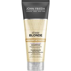 John Frieda Sheer Blonde Увлажняющий активирующий шампунь для светлых волос 250 мл
