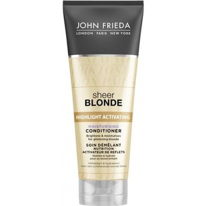 John Frieda Sheer Blonde Увлажняющий активирующий кондиционер для светлых волос 250 мл 34 43 big small size new 2016 summer fashion casual shoes moccasins bottom shoe platform flat for women s loafers ladies