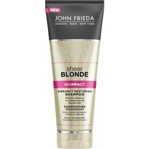 John Frieda Sheer Blonde HI-IMPACT Восстанавливающий шампунь для сильно поврежденных волос 250 мл ободок для девочки mnx9 белый бэби ко