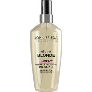 John Frieda Sheer Blonde HI-IMPACT Масло-эликсир для восстановления сильно поврежденных волос 100 мл john frieda sheer blonde прозрачный лак для создания формы и сияния светлых волос sheer blonde прозрачный лак для создания формы и сияния светлых волос