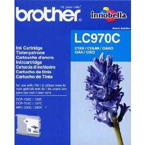 Brother LC970C картридж струйный cactus cs lc970y желтый для brother mfc 260c 235c dcp 150c 135c 20мл