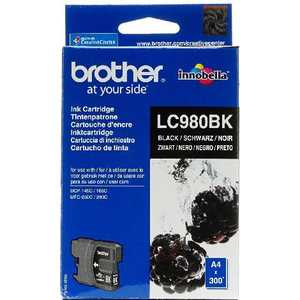 Brother LC980BK refillable color ink jet cartridge for brother printers dcp j125 mfc j265w 100ml