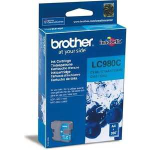 Brother LC980C refillable color ink jet cartridge for brother printers dcp j125 mfc j265w 100ml