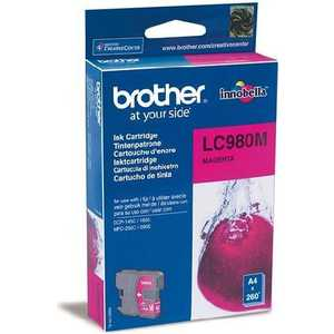 Brother LC980M refillable color ink jet cartridge for brother printers dcp j125 mfc j265w 100ml