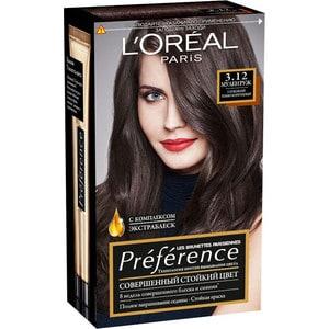 L'OREAL Preference Краска для волос тон 3.12 Мулен руж цена