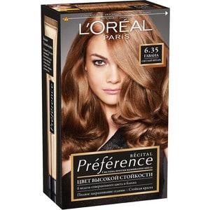 L'OREAL Preference Краска для волос тон 6.35 гавана фран тумба витрина гавана св 310