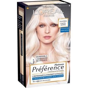 L'OREAL Preference Краска для волос тон 8 платина ультраблонд осветленный user preference extraction from brain signals