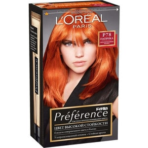 L'OREAL Preference Краска для волос P78 паприка краска для волос irecommend
