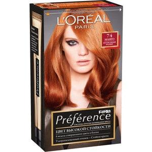 L'OREAL Preference Краска для волос 74 манго 40мл краска для эбру decart алая 40мл 65 40 004